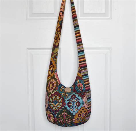 hobo bag crossbody bag sling bag hippie purse boho bag