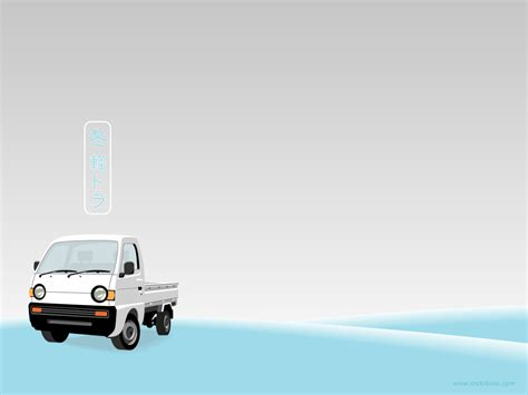 templates powerpoint cars truck winter backgrounds presnetation ppt backgrounds