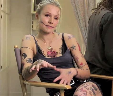 kristen bell tattoo tattoo ideas ink and rose tattoos