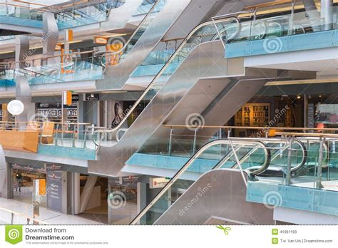 design on stock villa arena people shopping in the dutch shopping mall villa arena at