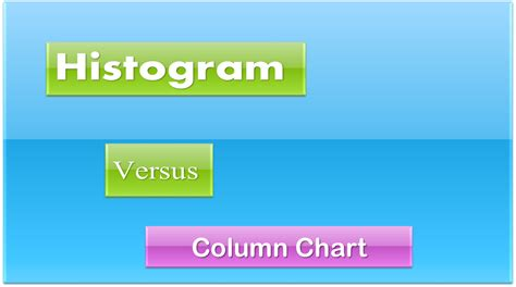 Difference Between Bar And Bar The Differences Between A Bar Graph And A Histogram