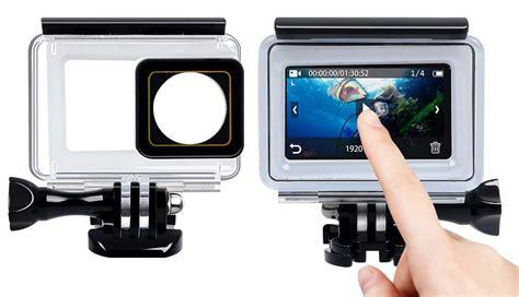 Underwater Touchscreen Waterproof 40m Xiaomi Yi 2 4k yi 2 4k xiaomi review pevly