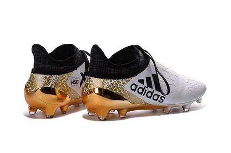 Sepatu Bola Future Netgit 18 1 White Fg Import Buy 2016 White Black Golden Adidas X 16 Purechaos Fg Ag