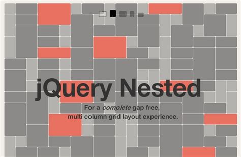 layout grid jquery a gap free multi column grid layout experience web