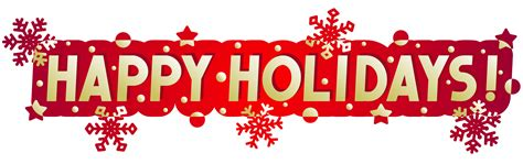 Free Happy Holidays Cliparts, Download Free Clip Art, Free ... Free Holiday Banner Clip Art