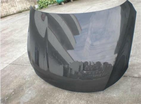 vw cc oem carbon fiber hood fits   cc