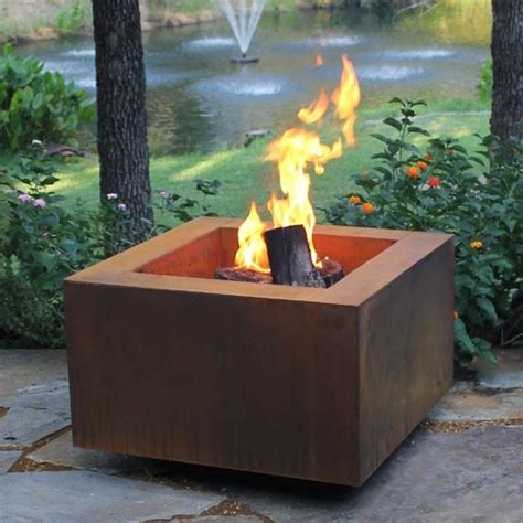 modern outdoor pit pits great for fall and winter modern pits