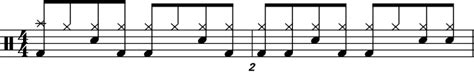 drum pattern blues free beginner drums lesson 4 learn to play music blog