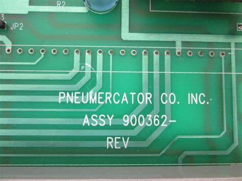 pneumercator  satellite unit circuit mother board