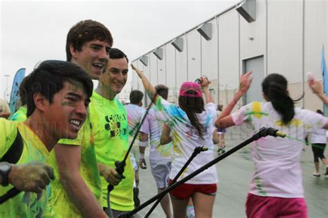 color run san antonio color me rad brightens sa runners mesquite news