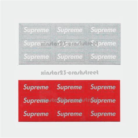 Mini Supreme Stickers