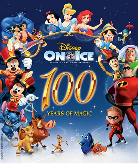 Family Disney On Ice100 Years Of Magic by A To Z A Florida Lifestyle Disney On Quot 100