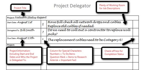 task delegation template track delegated items with our free ms word template