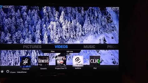 change wallpaper xbmc apple tv change background picture in kodi or xbmc using the