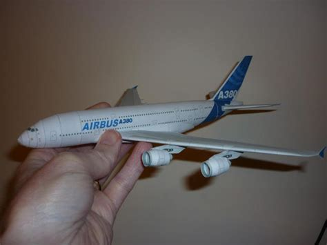Airplane Papercraft - papercraftsquare new paper craft airbus a380 800