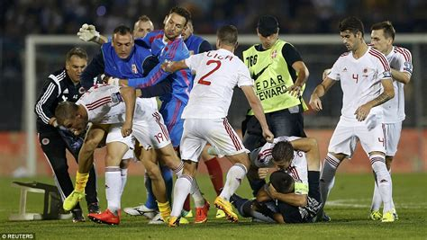 serbia says uefa should award them 3 0 win after match vs