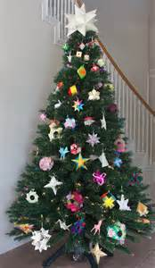 Paper crafts decorating ideas festive merry christmas tree holiday