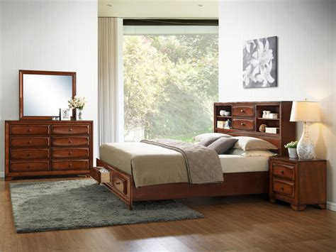 roundhill furniture asger king platform bedroom set reviews wayfair