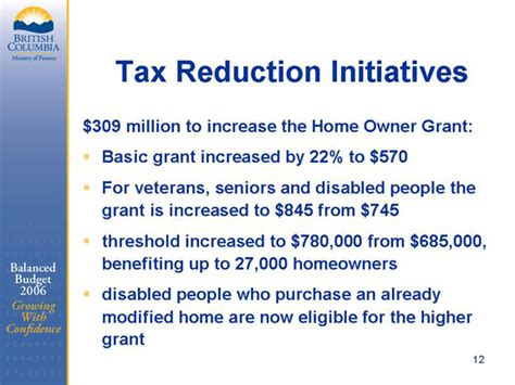bc seniors home renovation tax credit 28 images
