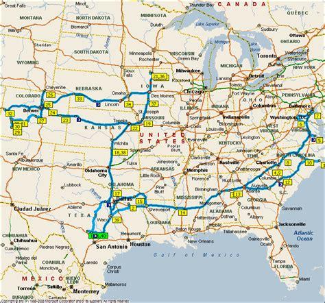 map of mineola texas summer 2009 trip