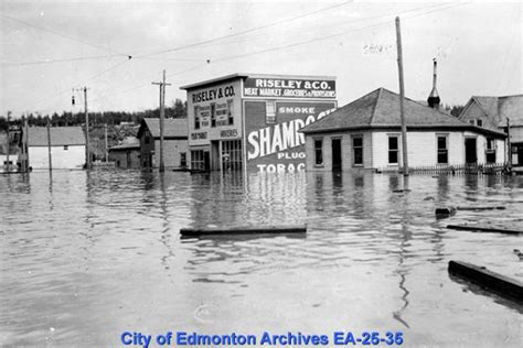 along with the gods edmonton edmonton marks 100 years since life altering flood