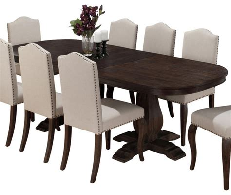Salvaged Wood Dining Room Tables by Jofran 634 102 Dining Table With Butterfly Leaf