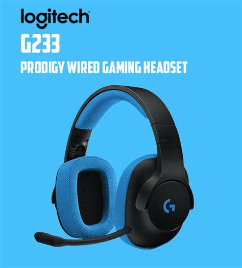 Headset Logitech G233 Logitech G233 Prodigy Wired Gaming Lightweight Headset