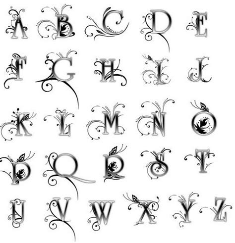 tattoo designs alphabet p 17 best images about alphabet lettering designs on