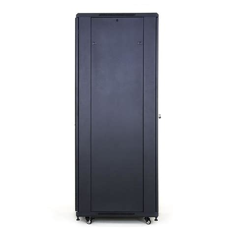 Front Door Cabinet Start Lan 42u Rack 19 Standing Cabinet 800x800mm Black Glass Front Door Server Cabinets