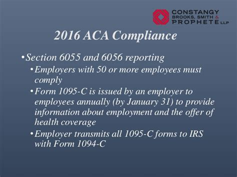 irs section 6056 2016 aca update
