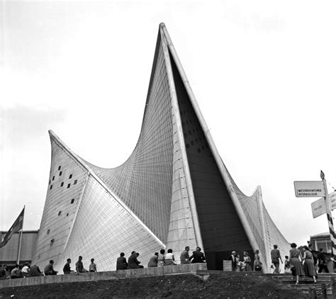 Pavillon Philips Xenakis by 9 Most Mathematically Interesting Buildings In The World