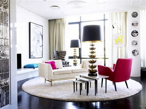 adler design living rooms by jonathan adler that bring color to winter