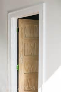 modern door frame a new door trim