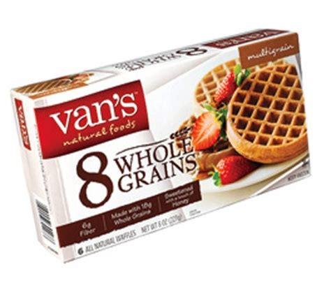 vans 8 whole grains waffles selfy splurges