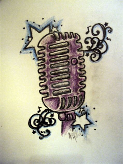 microphone design microphone stencil www imgkid the image kid
