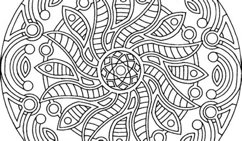 Mandala Coloring Pages For Adults   Printable Coloring Image