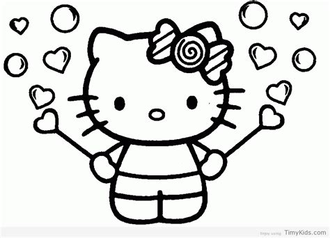 hello kitty logo coloring pages coloring pages hello kitty timykids