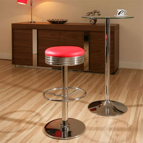 american 50 s diner style bar stools stool chrome