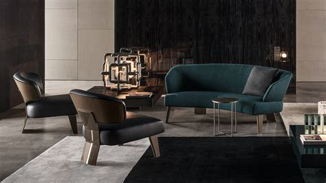 minotti home design products sofa creed lounge semicurvo by minotti design rodolfo dordoni