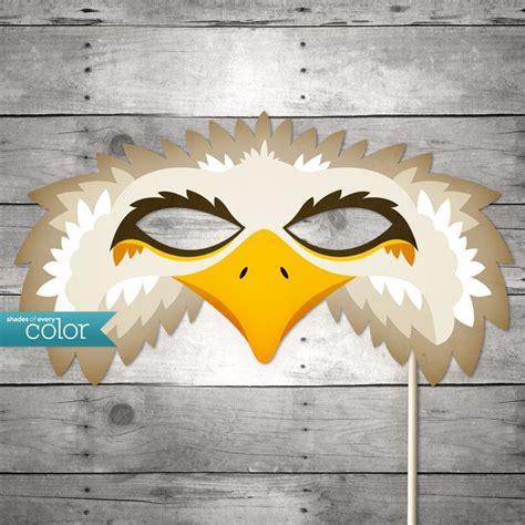 free printable vulture mask diy printable eagle mask halloween birthdays