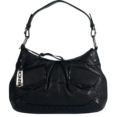 Dkny Nappa Hobo With Pleated by Dkny Shoulder Bags
