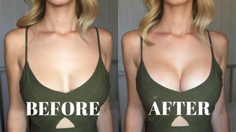 best fake boobs how to fake a boob job upbra stella youtube