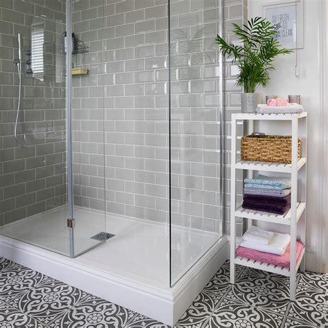 Patterned Floor Tile Bathroom   Tile Designs