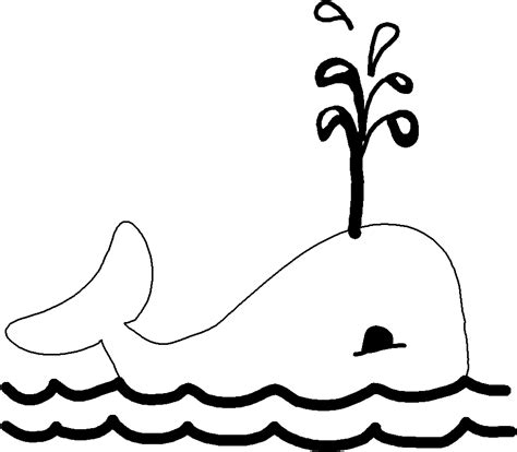 whale animal coloring pages