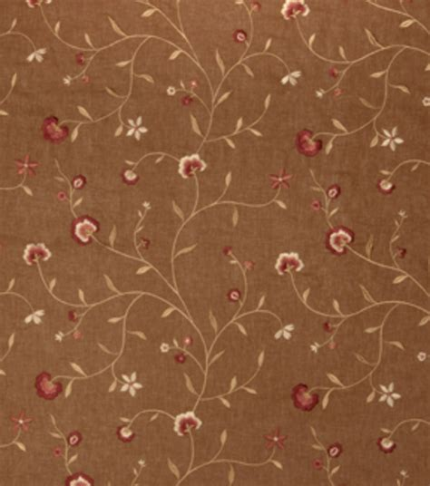 home decor print fabric richloom studio landora home decor print fabric richloom studio roses tobacco