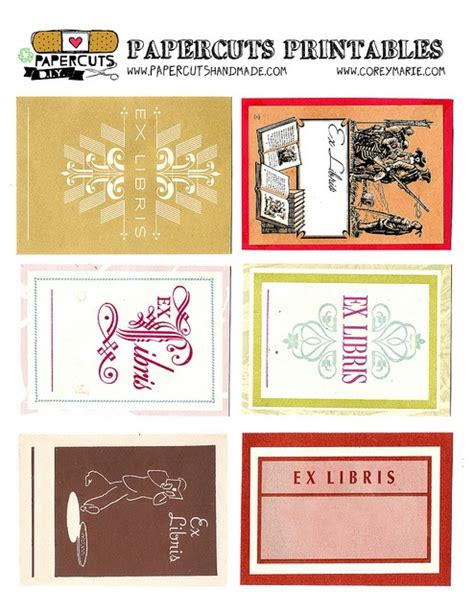 book labels template 203 best images about book plates on template