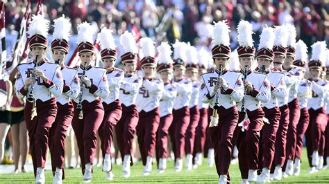 the marching chiefs of florida state the band that never lost a halftime show books fsu vs houston staff predictions tomahawk nation
