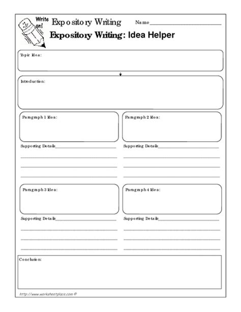 printable graphic organizer for expository writing informative essay graphic organizer 6th grade docoments
