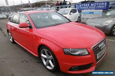 car owners manuals for sale 2008 audi a4 seat position control 2008 audi a4 for sale in the united kingdom