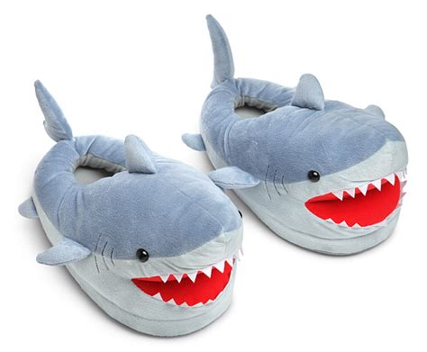 what are house shoes shark plush slippers for grown ups